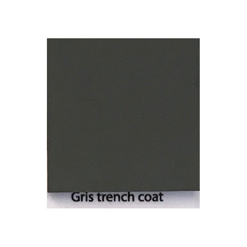 La Casine Gris Trench Coat