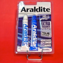 Colle araldite progressive tube