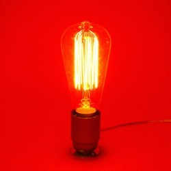 Ampoules vintage décoratives Edison 25W